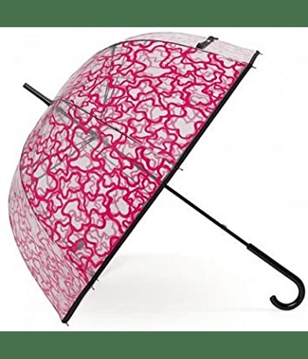 Guarda-chuva TOUS Kaos Transparente Rosa - Tous