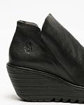 Sapato de Cunha Yip Preto - Fly London