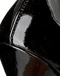 Stiletto em Verniz Preto Plasmia - Guess