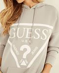Vestido Sweat Logo Triângulo - Guess