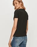 T-shirt Icon com Strass Preto - Guess