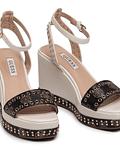 Sandálias de Cunha com Logo Noldo - Guess