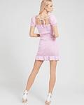 Vestido Vichy Aida Rosa - Guess