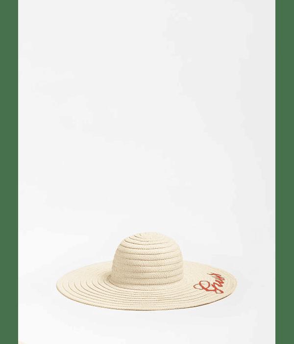 Chapéu Lettering Bordado - Guess