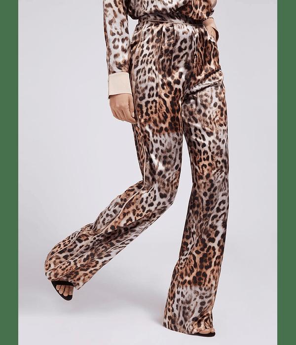 Calças Pantalonas Animal Print - Guess Marciano