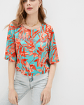 T-shirt Floral - Guess Marciano