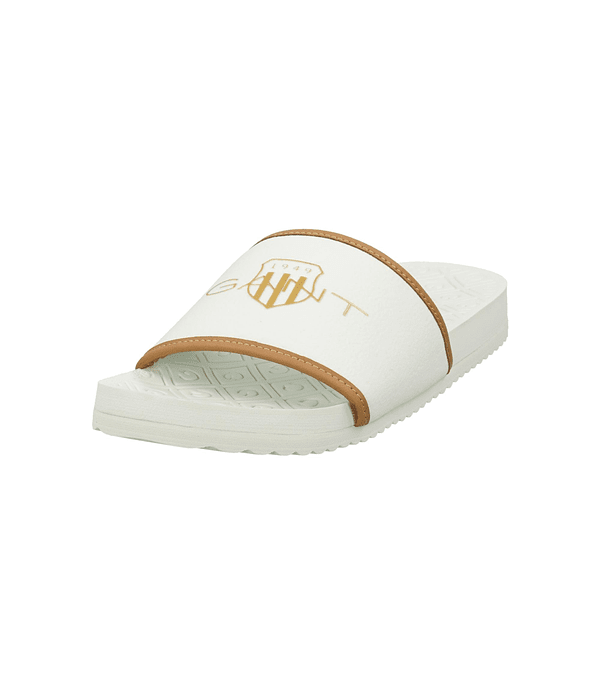 Chinelo Branco Plagepool - Gant