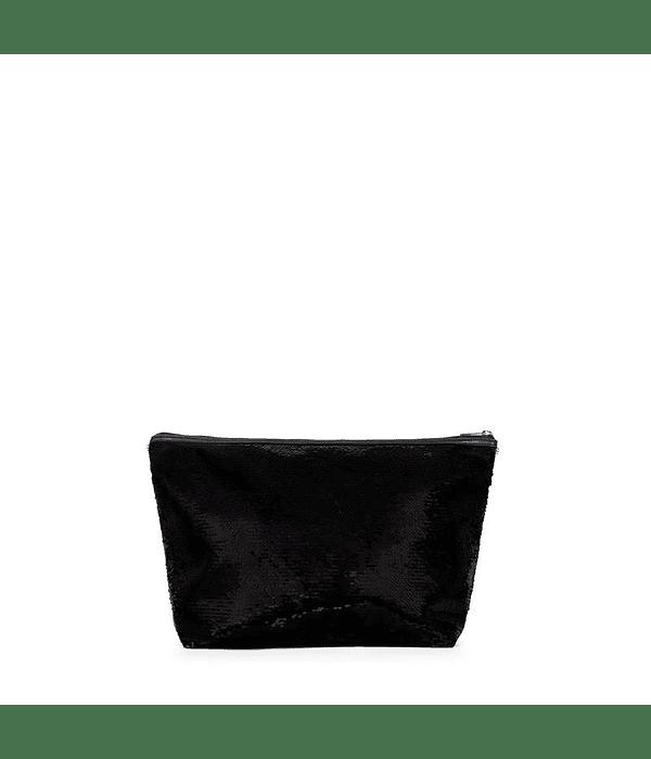 Bolsa Pequena Kaos Shock Sequins Preto - Tous