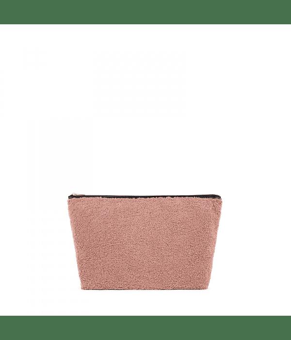 Bolsa Pequena Rosa Shaggy Pelo Kaos Shock - Tous