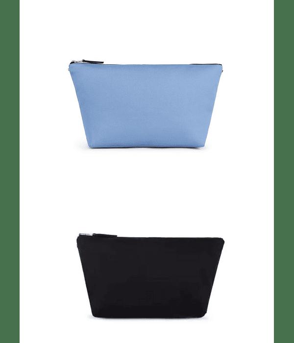 Bolsa Pequena Reversível Azul/Preto Kaos Shock - Tous