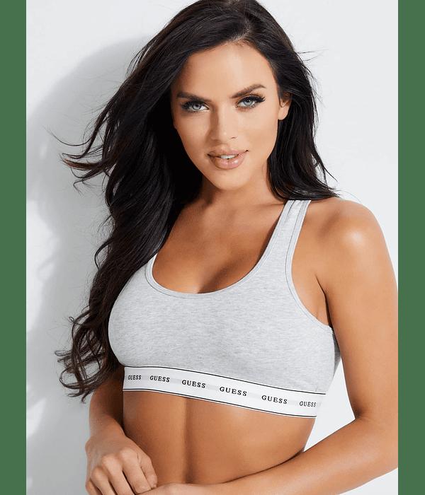 Sutiã / Top Desportivo Bralette Carrie Cinza - Guess