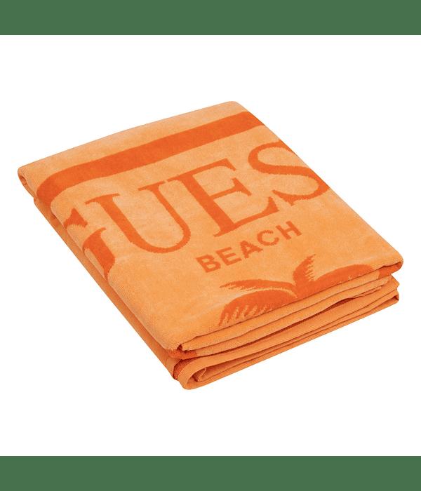 Toalha de Praia Triângulo Laranja - Guess
