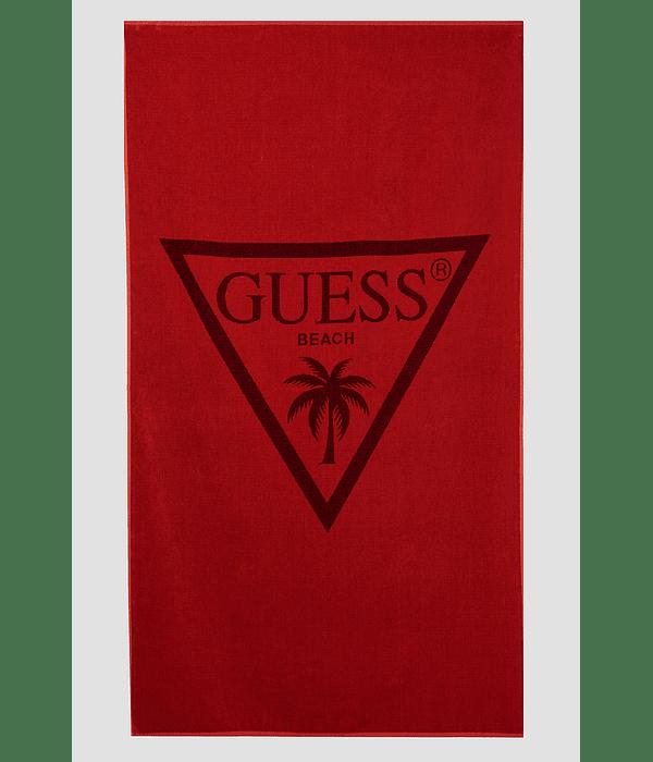 Toalha de Praia Triângulo Vermelho - Guess