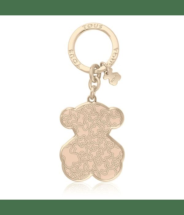 Porta Chaves Urso Kaos Mini Nude - TOUS