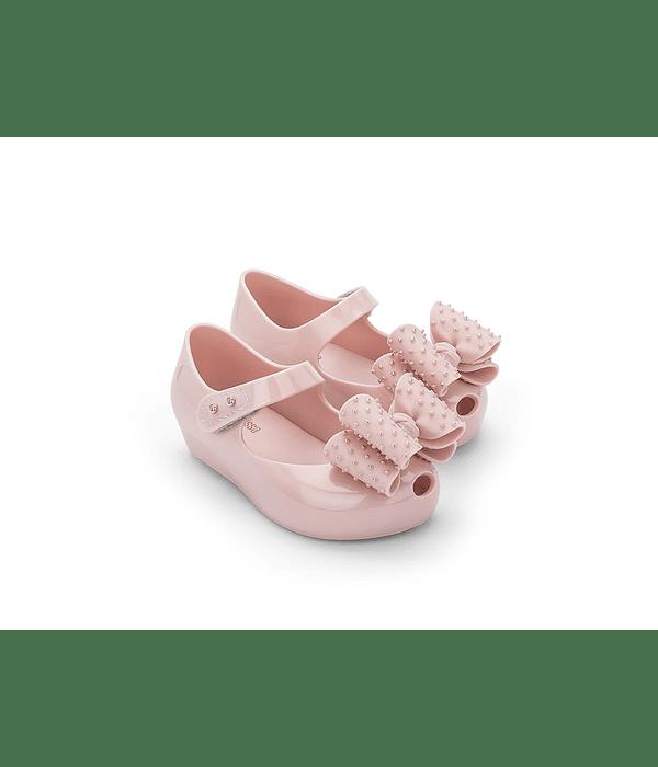 Sapato Criança com Laço Sweet VII Rosa - Mini Melissa