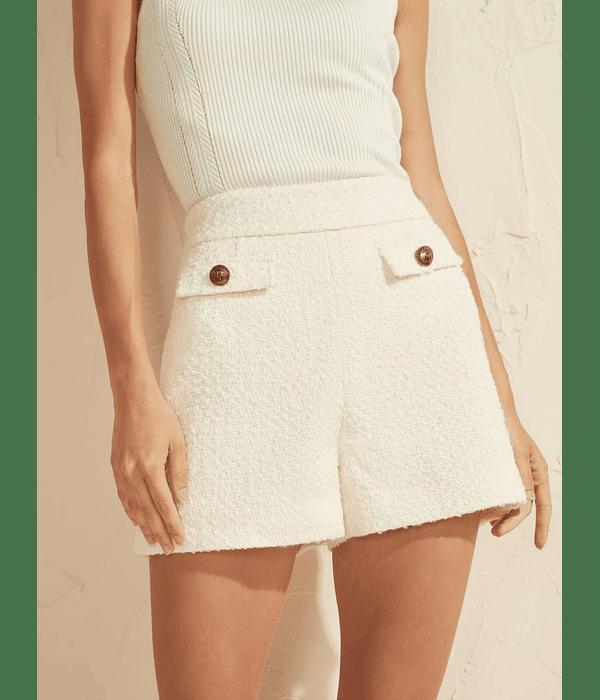 Calções em Tweed Madeline - Guess Marciano