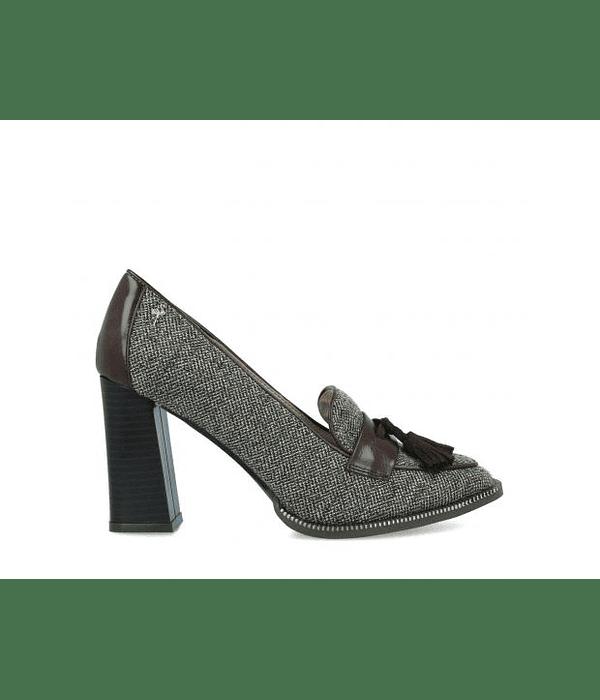 Sapato Salto Largo Espinhado ilana  - Menbur