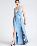 Vestido Comprido Tencel - Guess