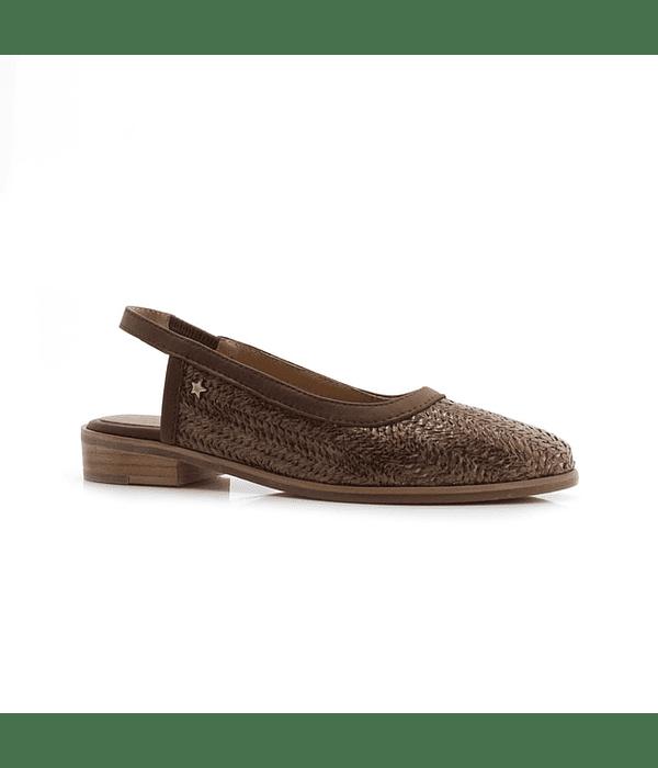 Sapato Aberto Salto Baixo - Cubanas