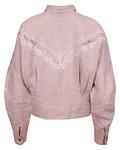 Camisa cropped combinada - SAHOCO