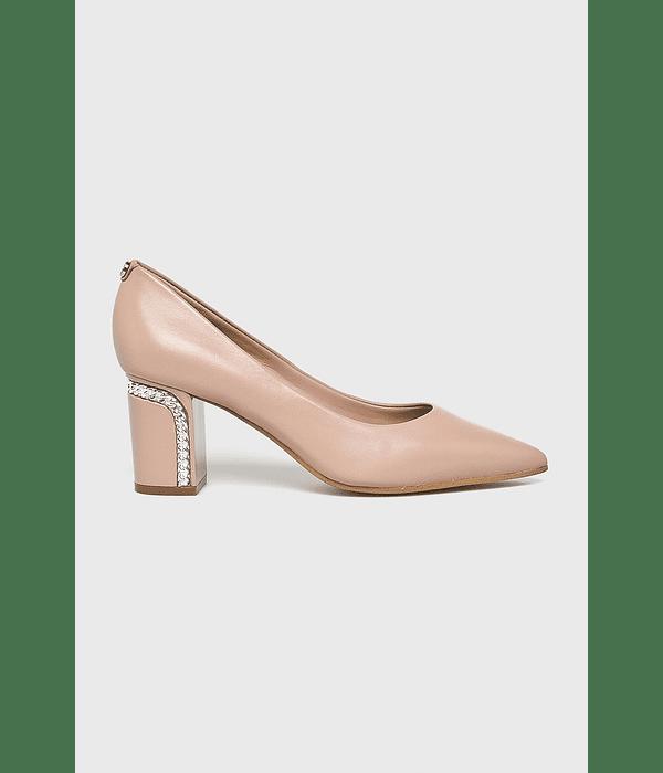 Sapato Salto Quadrado - Guess