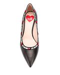 Stiletto com Logo - Love Moschino