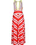 Vestido cruzado com alças - SAHOCO
