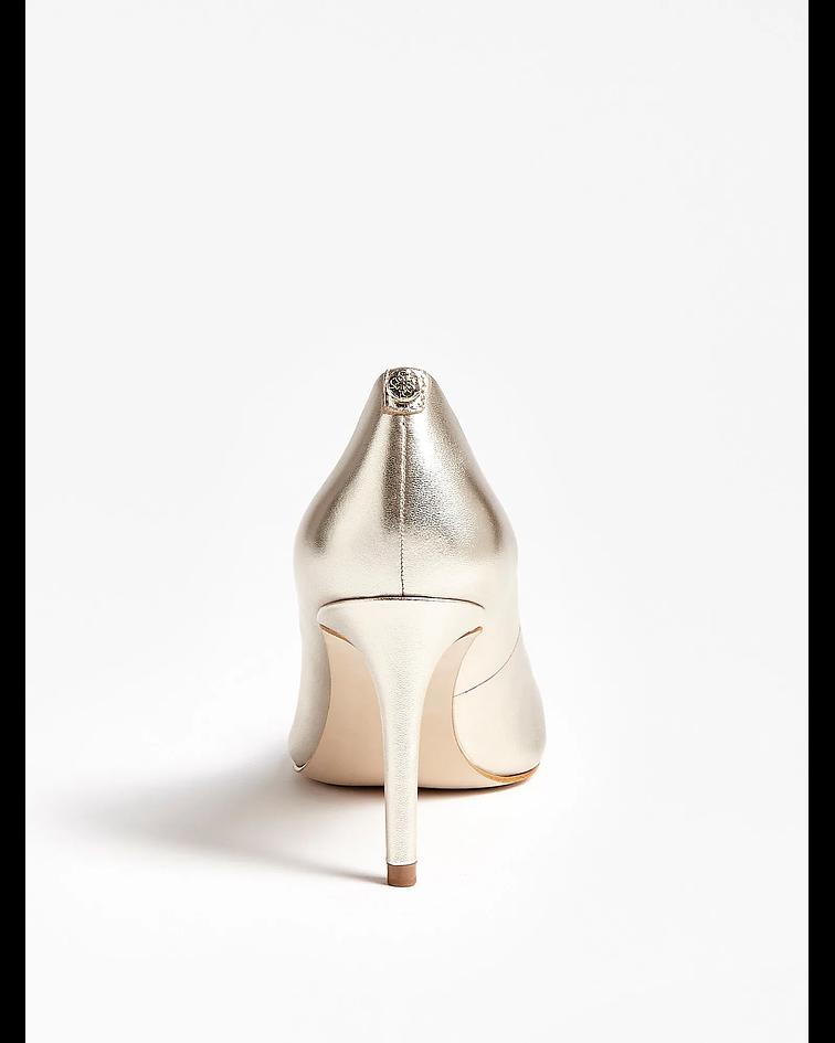Stiletto Básico Platinado - Guess