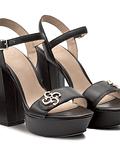 Sandália de Salto Largo - Guess