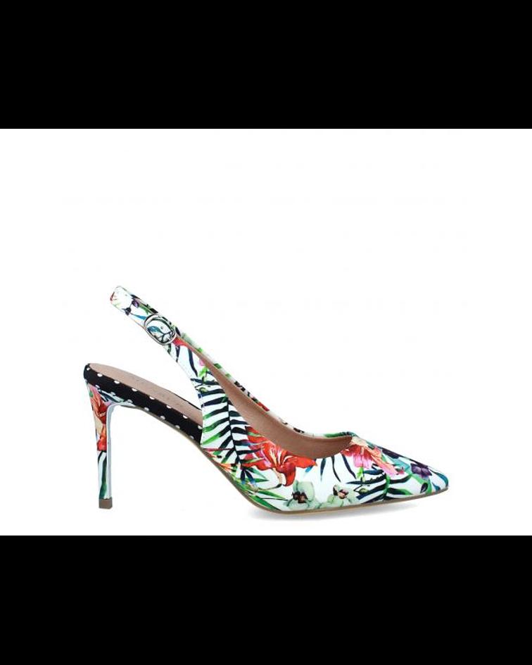 Sapato floral - Menbur