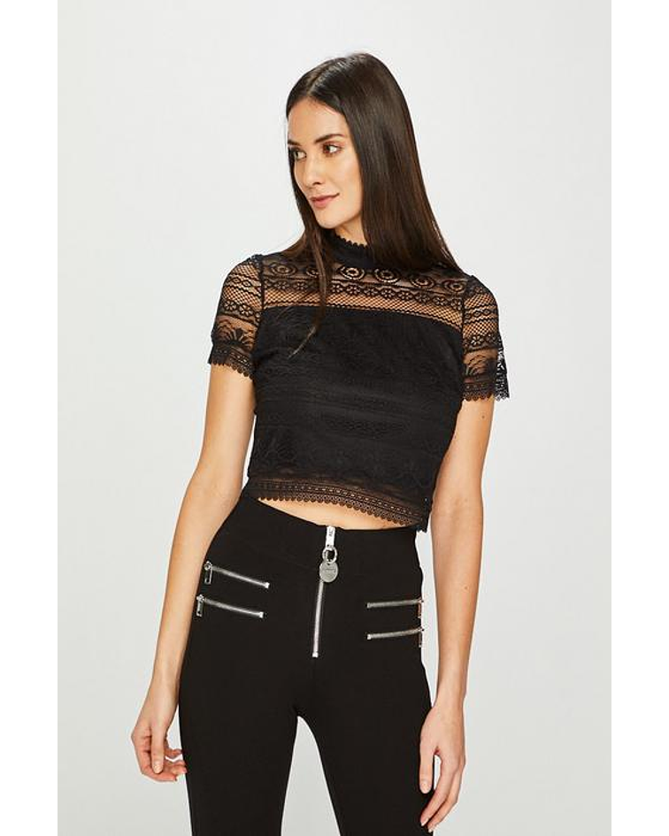 Top renda Curto - Guess