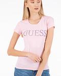 T-shirt Logo em Glitter - Guess
