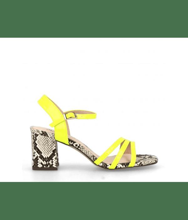 Sandálias animal print - Menbur