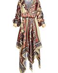 Vestido Cruzado Assimétrico - SAHOCO