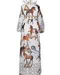 Vestido Comprido Cavalos - SAHOCO
