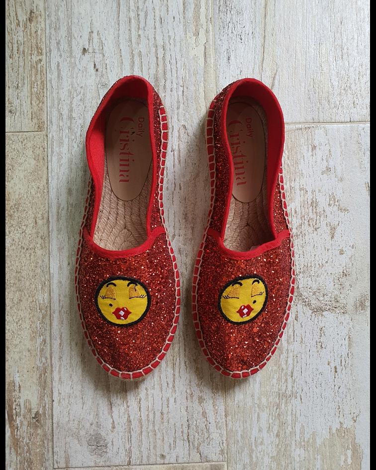 Alpergata Emoji Glitter - Cristina Ferreira