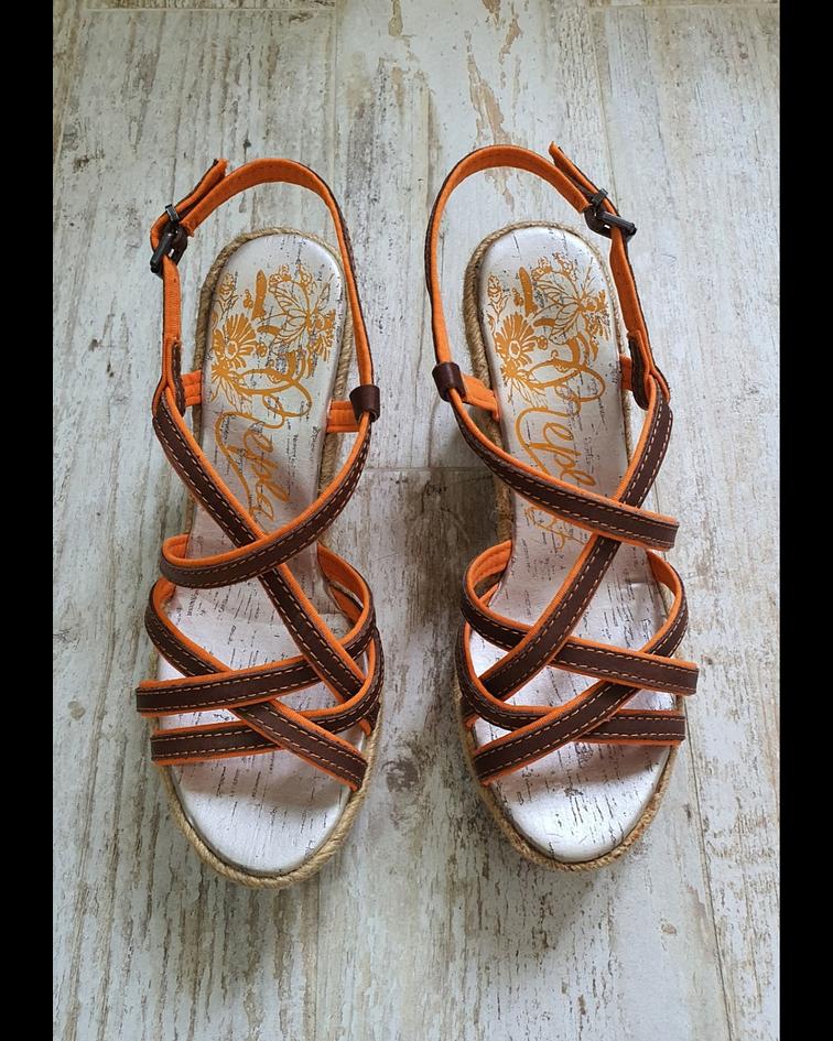 Sandália em Cunha de Corda - Replay