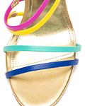 Sandália Tiras Multicoloridas - Guess