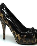 Sapato Compensado Animal Print - Guess