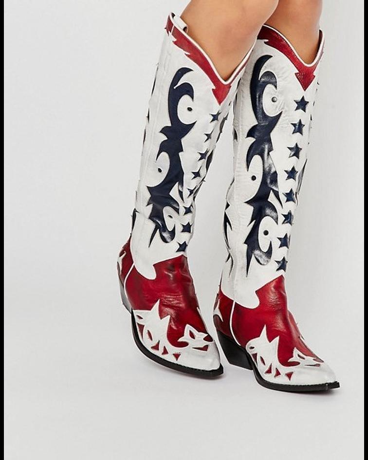 Bota Texana Alta Starwood - Jeffrey Campbell