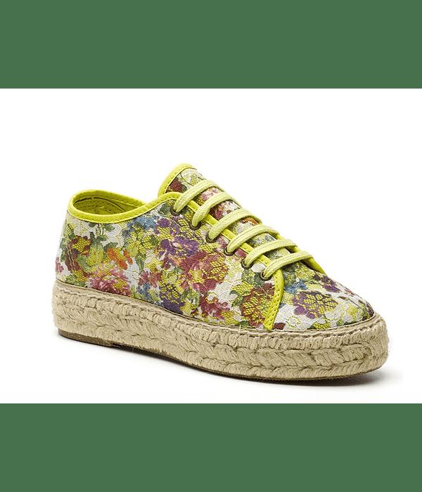 Alpergata Renda Flores - Natural World