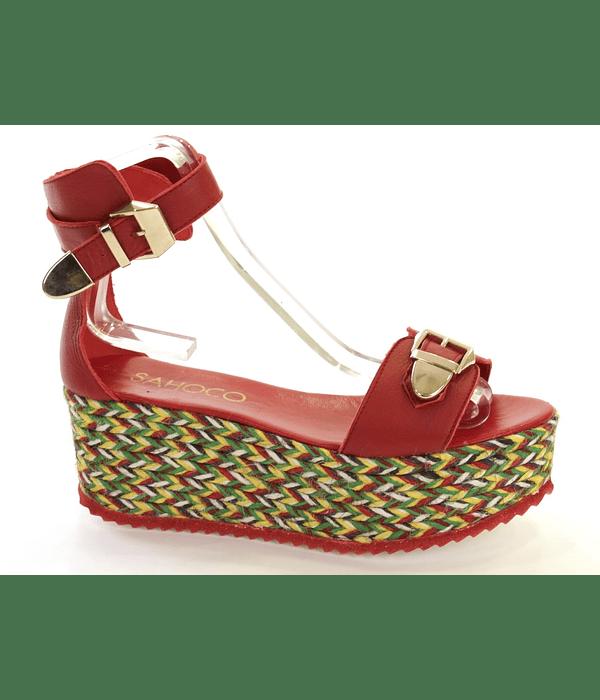 Sandália de Plataforma - SAHOCO