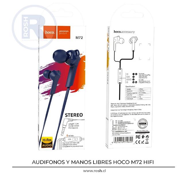 Audifono Hoco M72