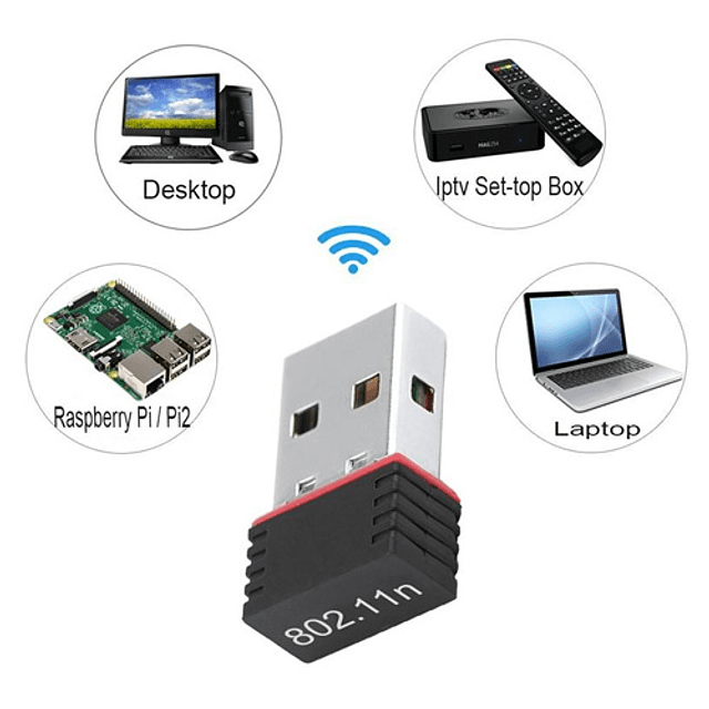 Receptor Señal Wifi USB
