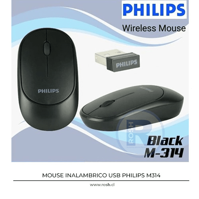 Mouse Inalambrico Philips