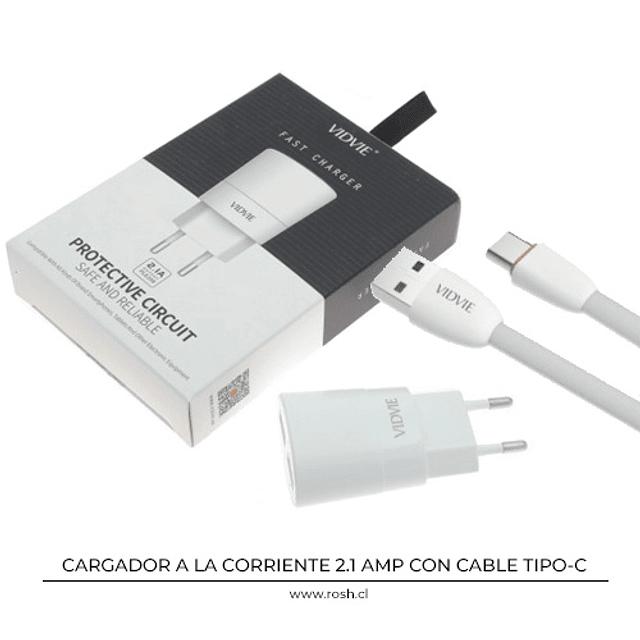 Cargador a la Corriente USB Dual USB-C