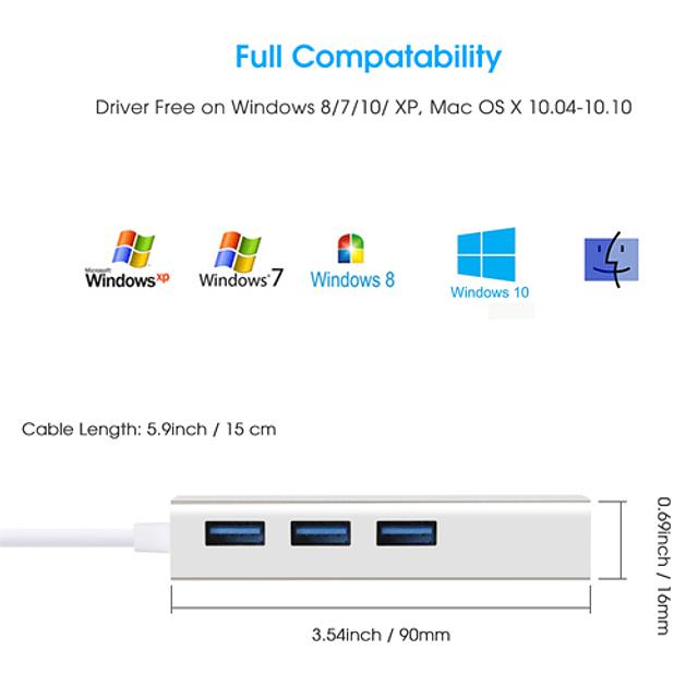 Adaptador LAN USB 3.0