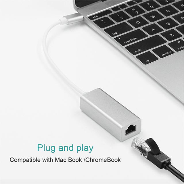 USB-C a LAN / Ethernet