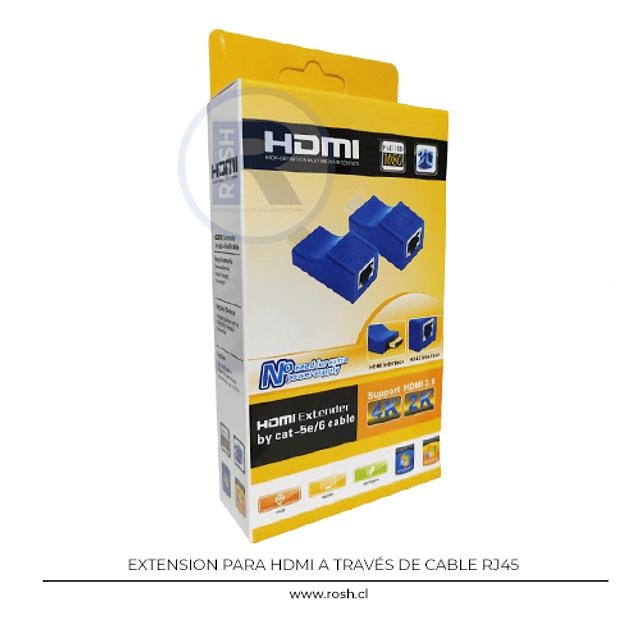 Extensor HDMI por Cable de Red