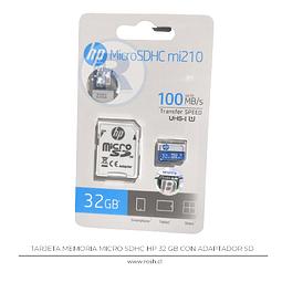 Memoria Micro SDHC 32 GB HP